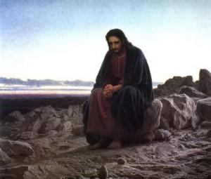 Иисус Христос в пустыни