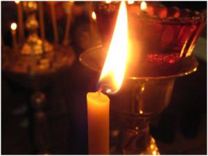 Свеча и лампада