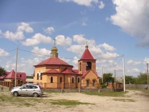 церковь в Катюжанке