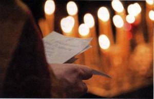 Поминовение усопших в храме