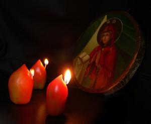 Молитва при свечах