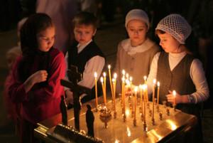 Дети и свечи
