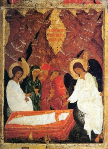 Ангелы на Гробе Господнем