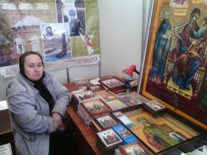 матушка Светлана на выставке Вербный Кирмаш 2014