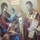 Икона ЭКОНОМИССА — Домостроительница и преподобный Михаил епископ Синадский