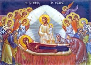 Икона Успения Богородицы