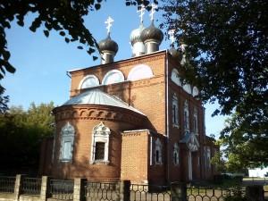 Свято-Никольская церковь в Телуше