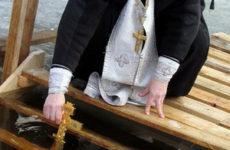 Святой Иоанн Креститель. Крещение во Иордане