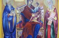 Молитва Божьей Матери Экономиссе — Домостроительнице